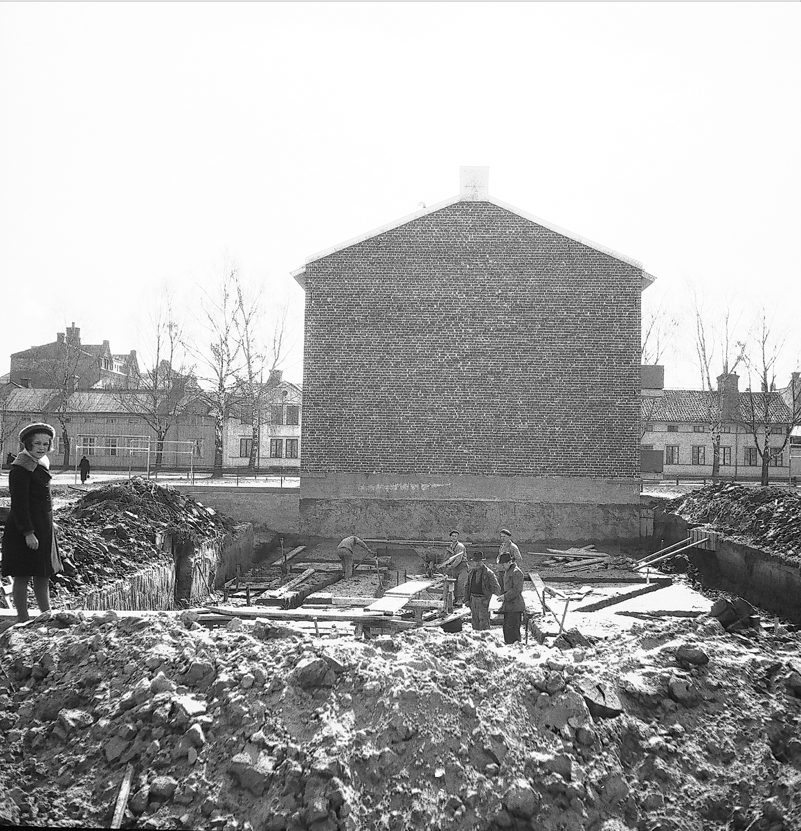 År 1938. Staketgatan.
