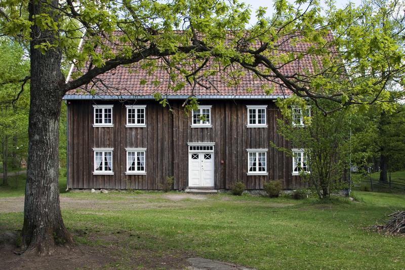 Børsumbygningen på Seiersten, MiA Follo museum