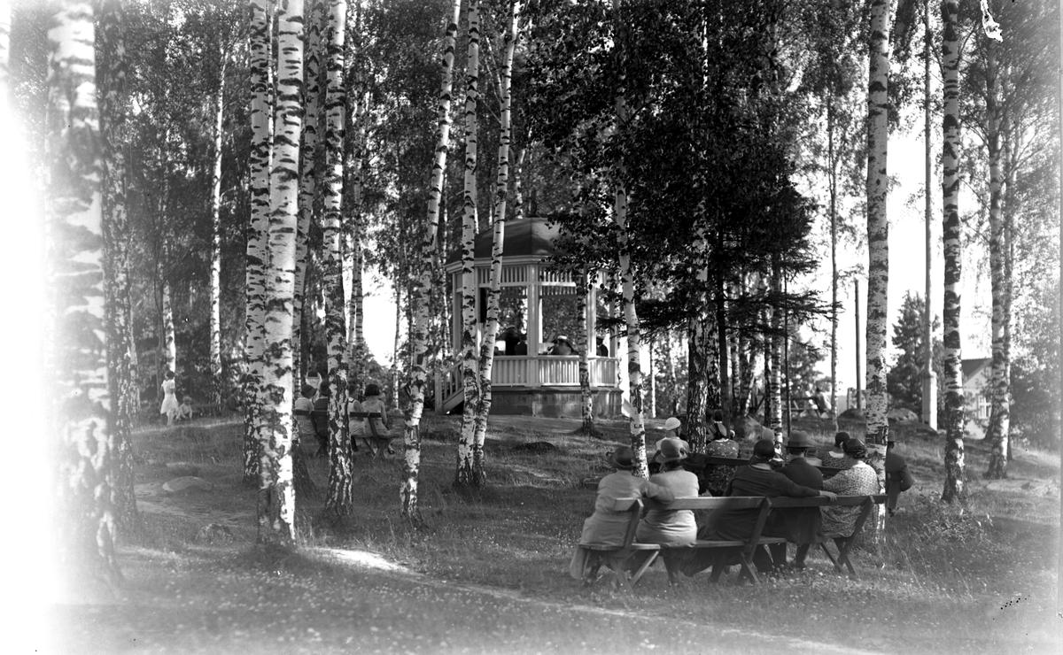 Fagersta, musik i parken