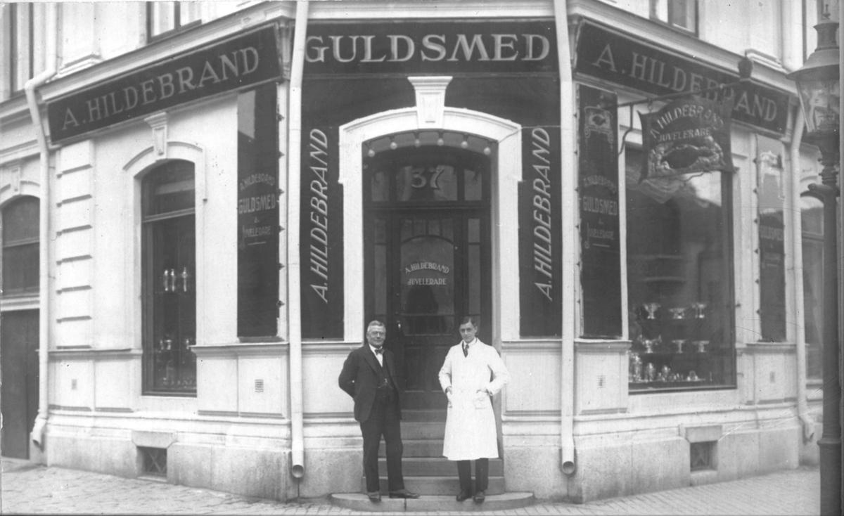 A. Hildebrand, Guldsmedsaffär.