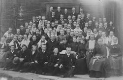 Konfirmanter Røros 1889