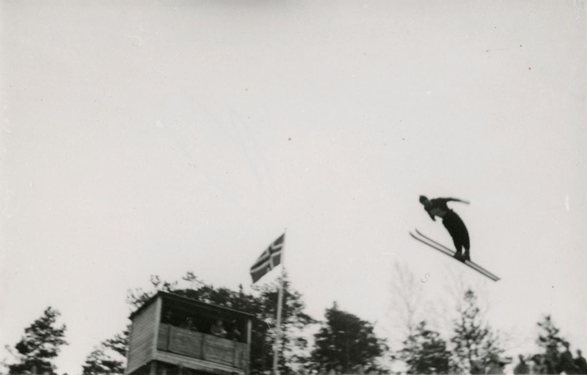 Kongsberg skier A. Anthonsen