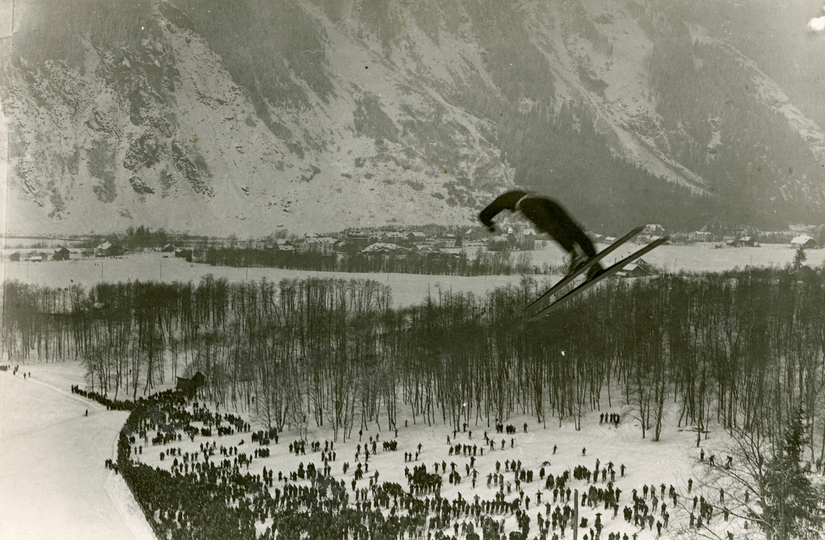 Norwegian athlete in German competition