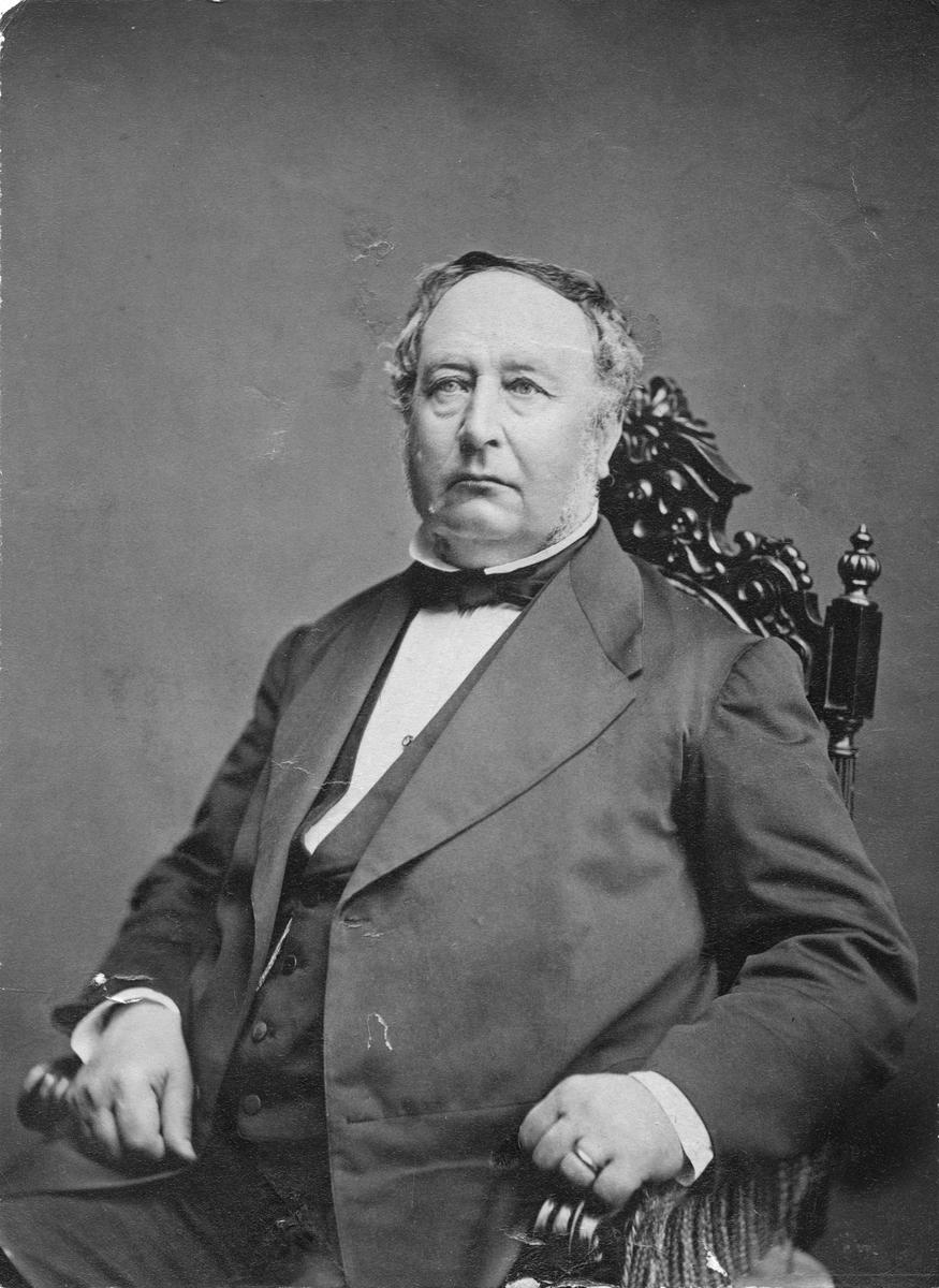 Oskar Schenström (1813-1900).Borgmästare 1853-1900.