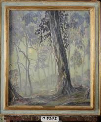 Forest Idyl [Oljemålning]