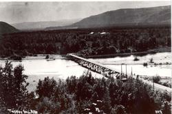 Tangen bro, Alta
