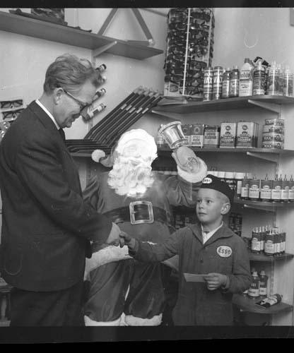 Peter Andersson och Tage Grennfelt år 1964