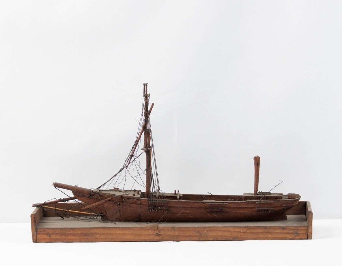 Tremastet seilskute