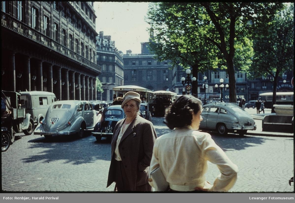På tur i Paris.