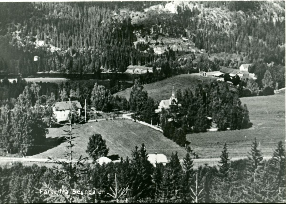 Tollefsrud i Begnadalen, Sør-Aurdal.