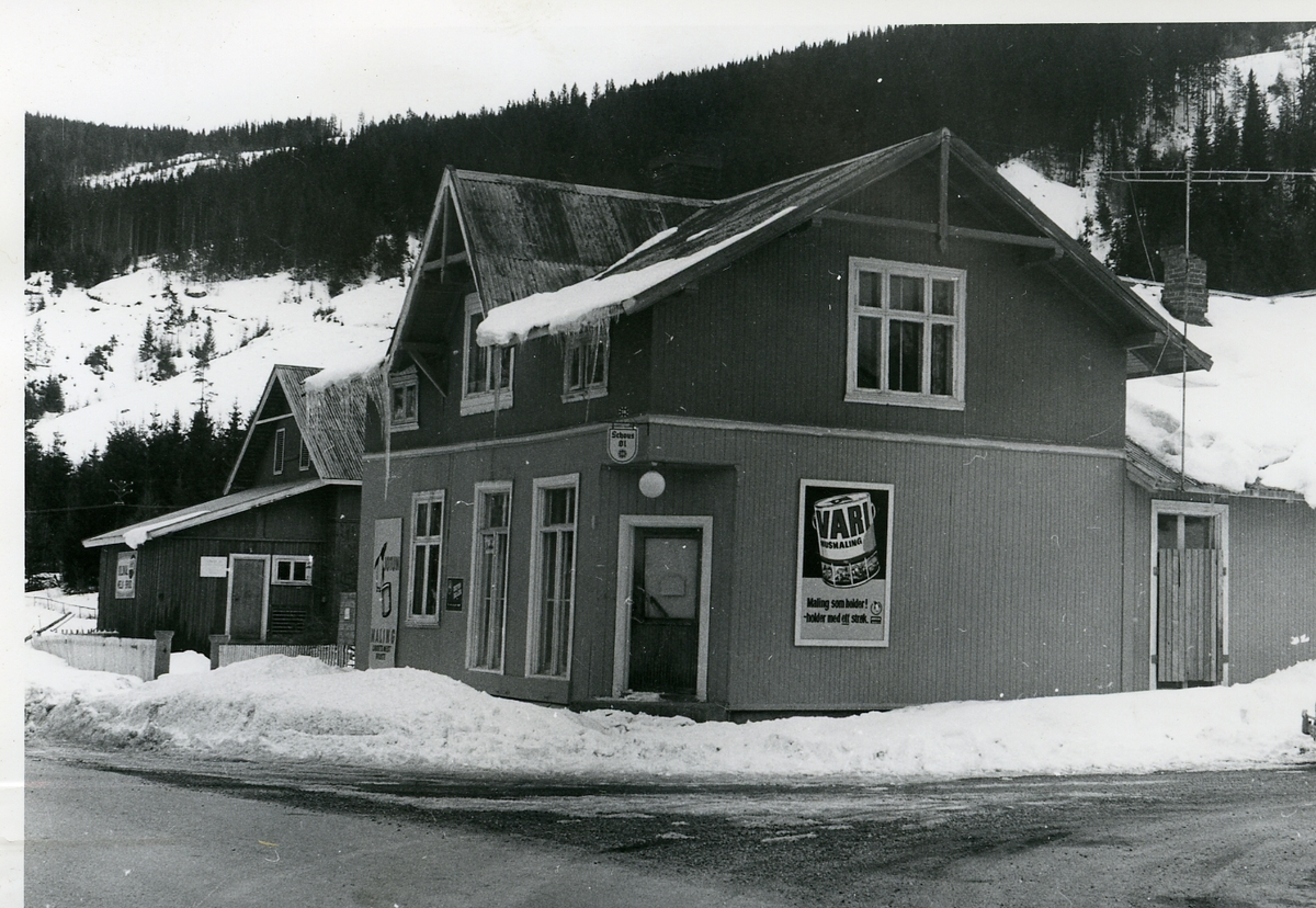 Butikk på Tollefsrud i Begnadalen, Sør-Aurdal.