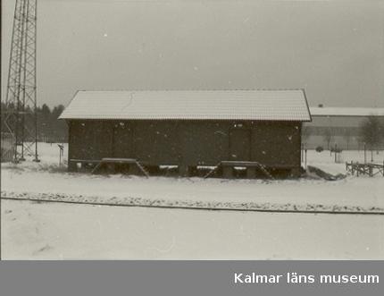 Järnvägsstationen i Gullringen.