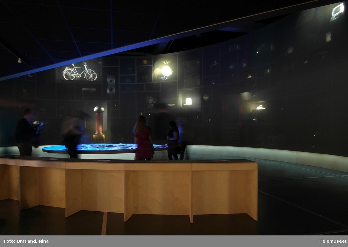 Utstillingen TING - teknologi og demokrati, Telemuseet i samarbeid med Norsk Teknisk Museum
