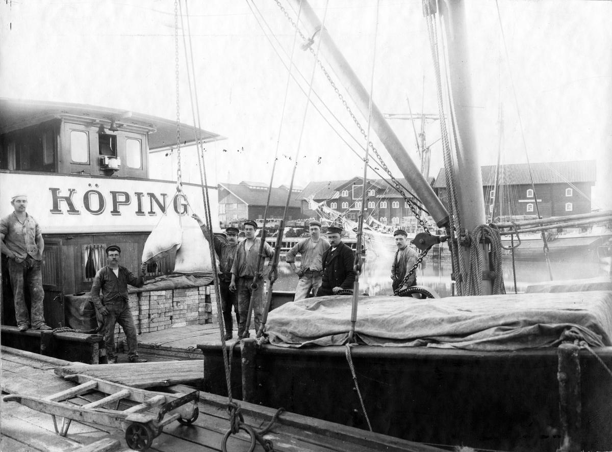 Köpings hamn.