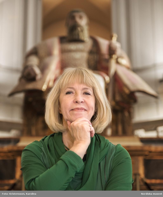 Porträtt Christina Mattsson, Styresman Nordiska museet