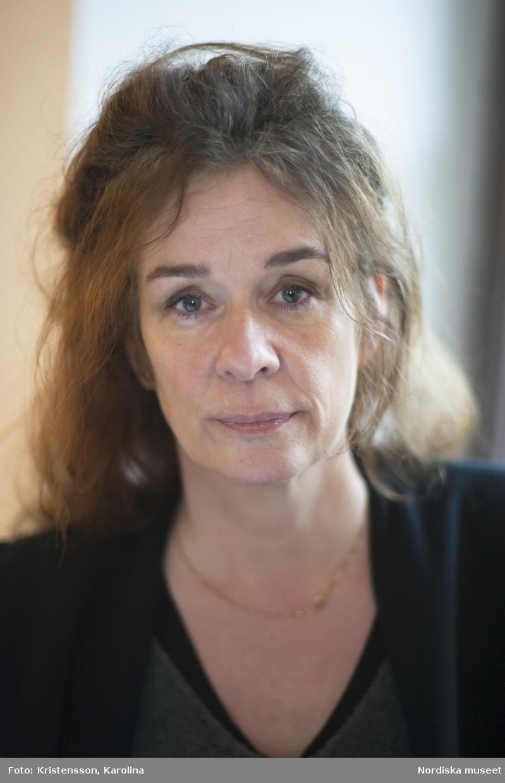 Porträtt Ulrika Torell, Nordiska museet, intendent