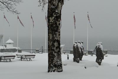 Vinter på Bygdøynes