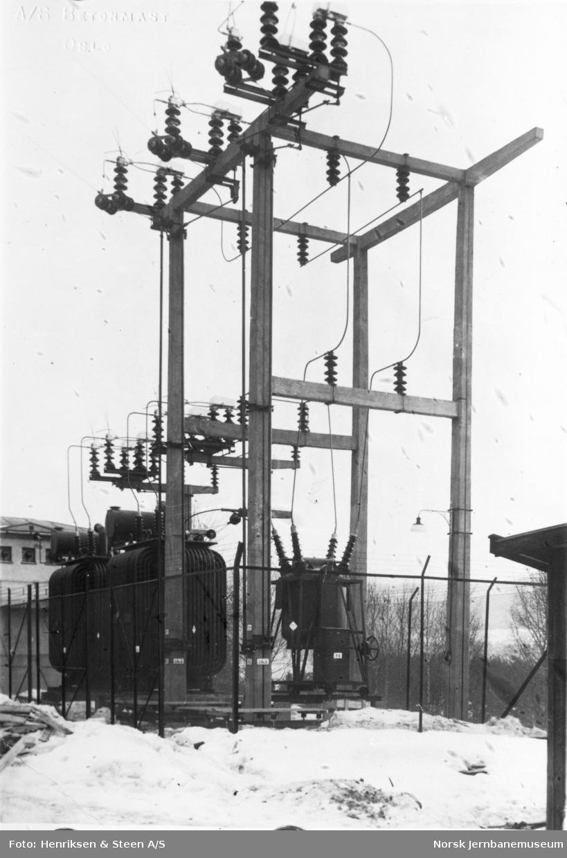 Nordagutu transformatorstasjon