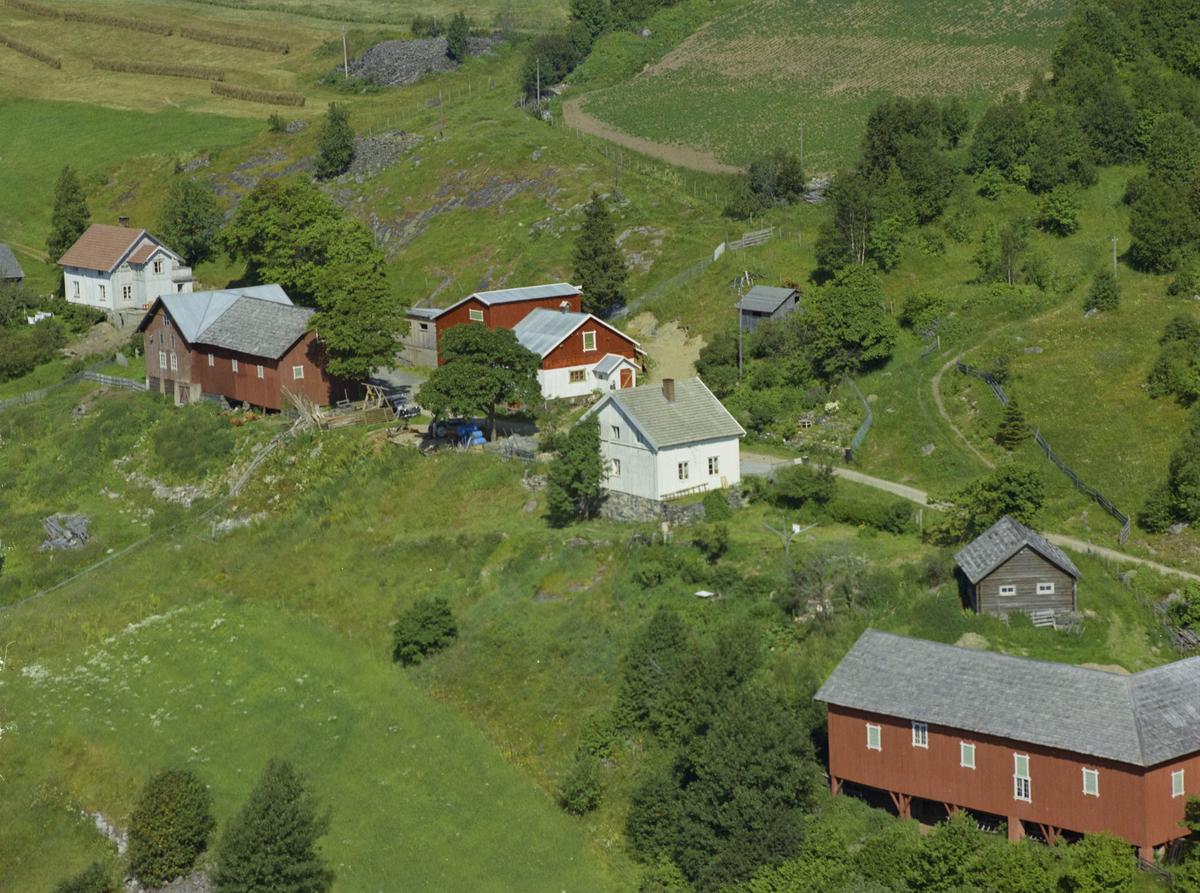 Vingrom, Ovren vestre, gårdsbruk, kulturlandskap