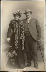 Agnethe Schibsted-Hansson og Olaf Mørch Hansson.