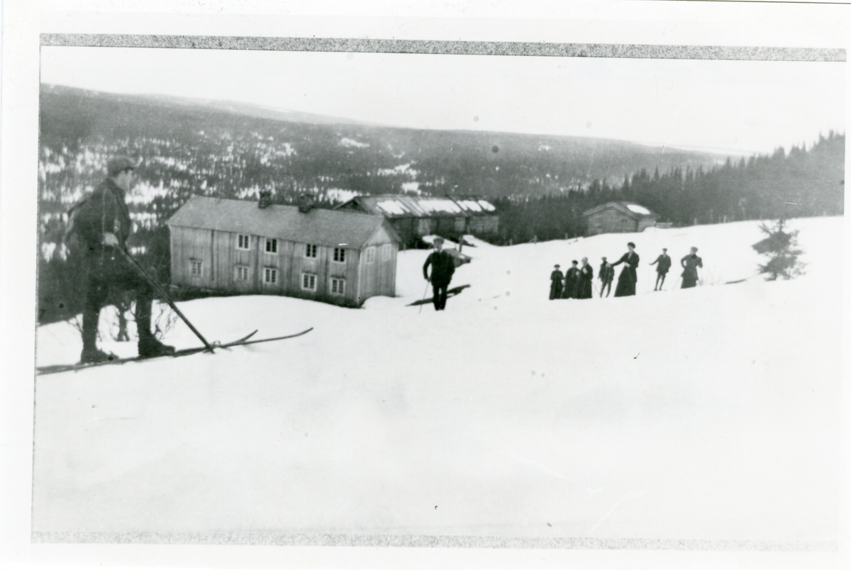 Mikkjel Fønhus, 1925.