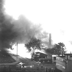 Sveagatan - Tornbyvägen. K. Sjögreens trävaruaffär