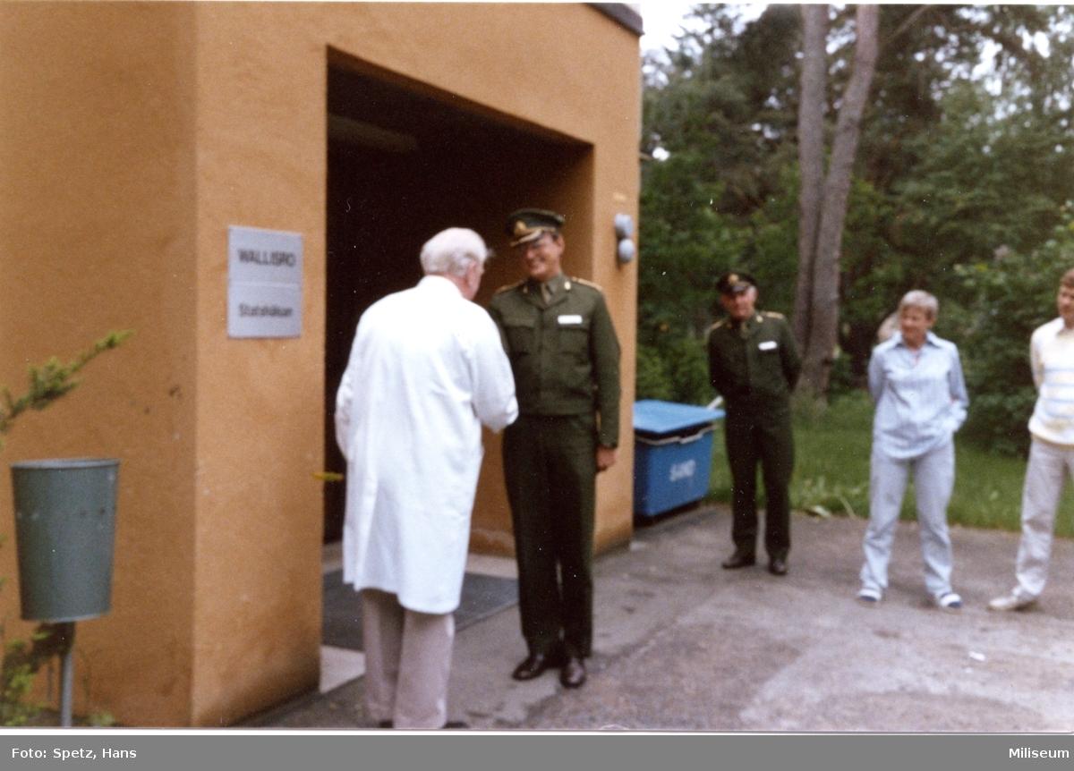 """Sjukhuset """"Wallisro"""". Dr Wallis Söderberg, A 6 reg.läk."""