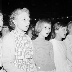 """""""Upplandsbarnens Sångarting"""", Uppsala, 1958"""