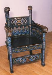 Gjenstandsfotografi av en stol laget til Anders Hovden av La
