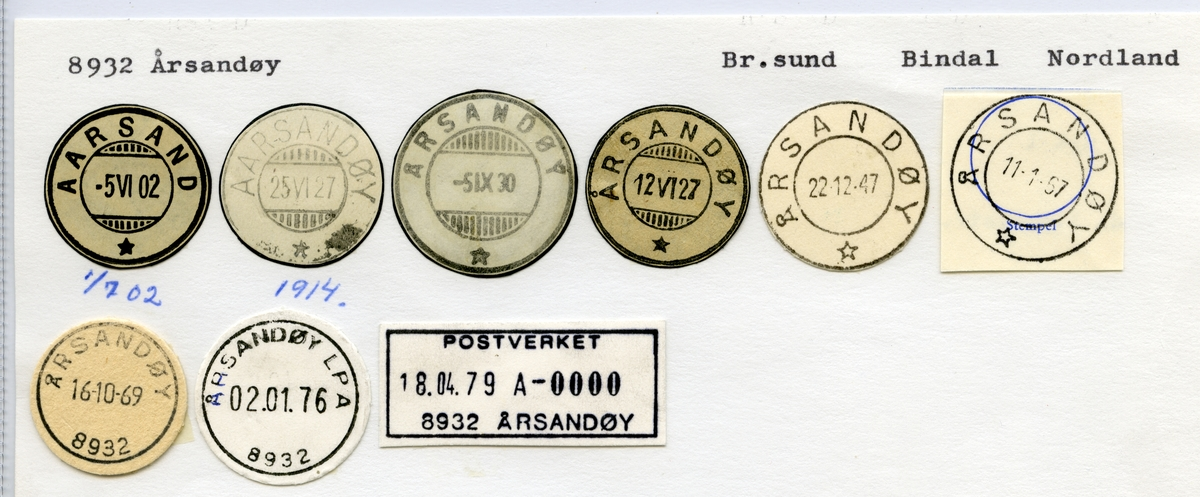8932 Årsandøy (Aarsand, Aarsandøy), Brønnøysund, Bindal, Nordland