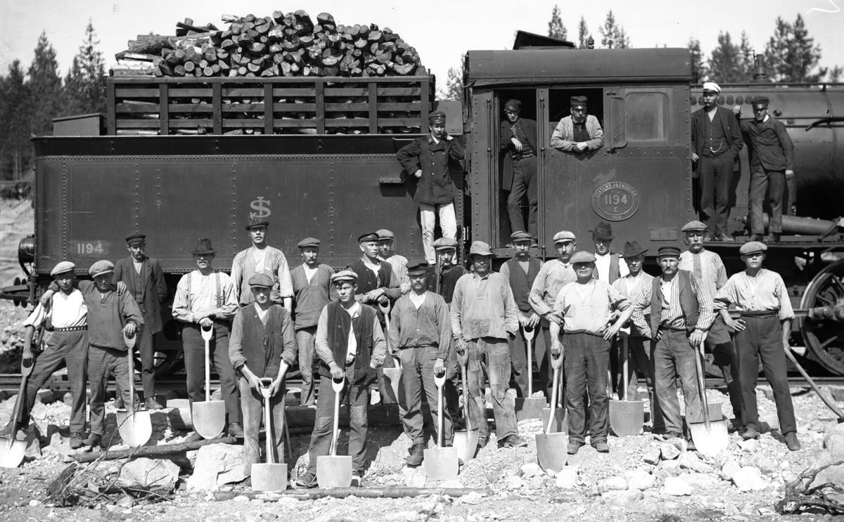Byggande av järnvägsnätet