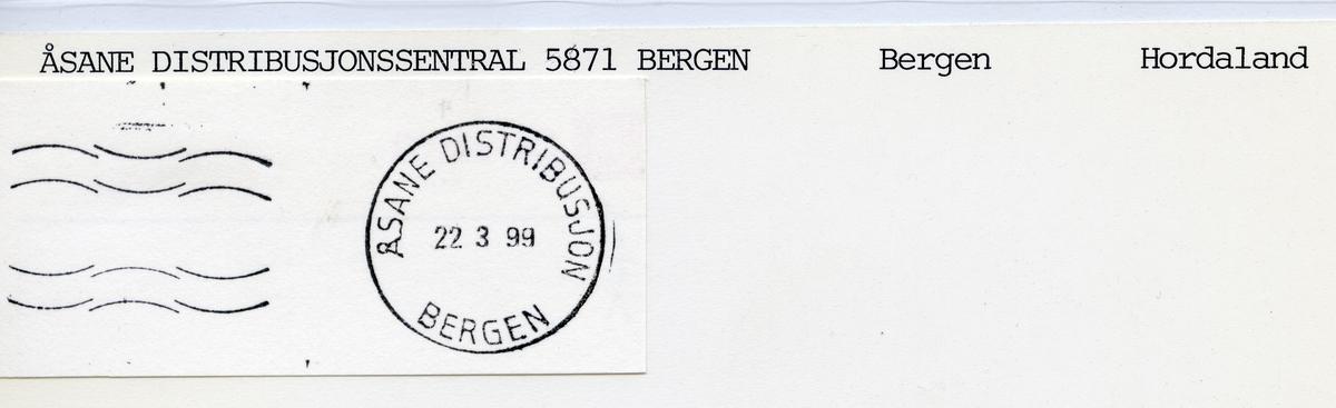 Åsane distribusjon, Bergen, Hordaland