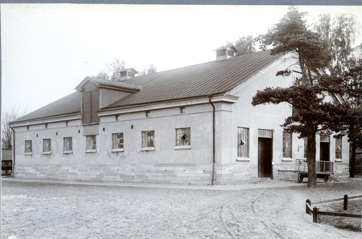 Stallet, nordöstra. Karlsborg.