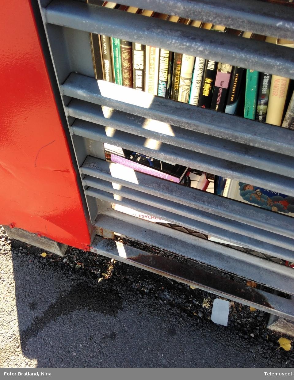 Keyserkiosk Einars vei Oslo Telefonkiosk med bøker