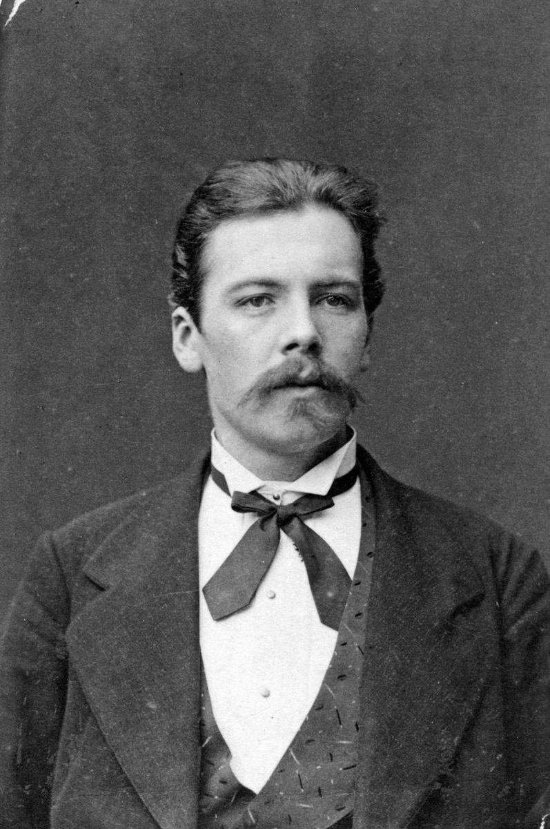 Kristian Klintman, 1870-tal.Bruksbokhållare i Gysinge.