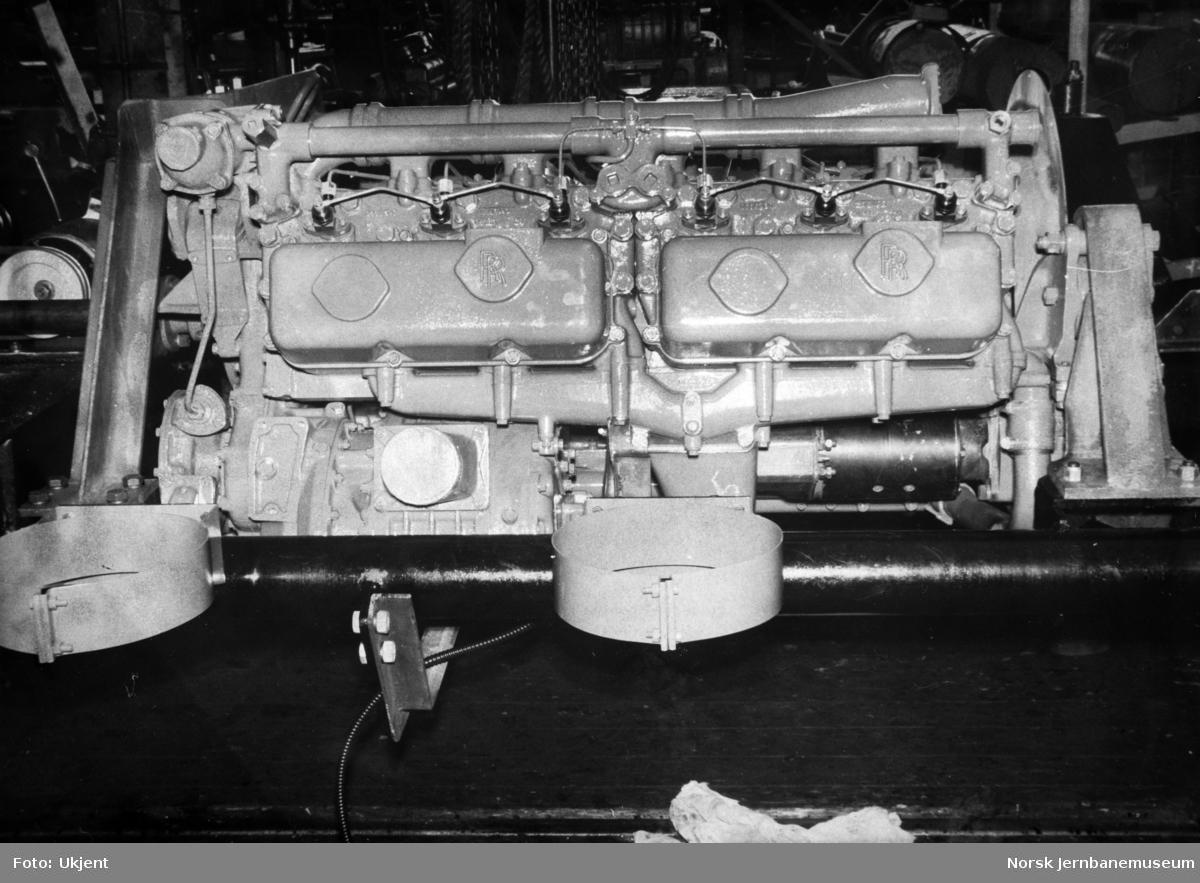 Motorvogn type 86 og 91 - Rolls Royse-dieselmotor modell C6SFLH