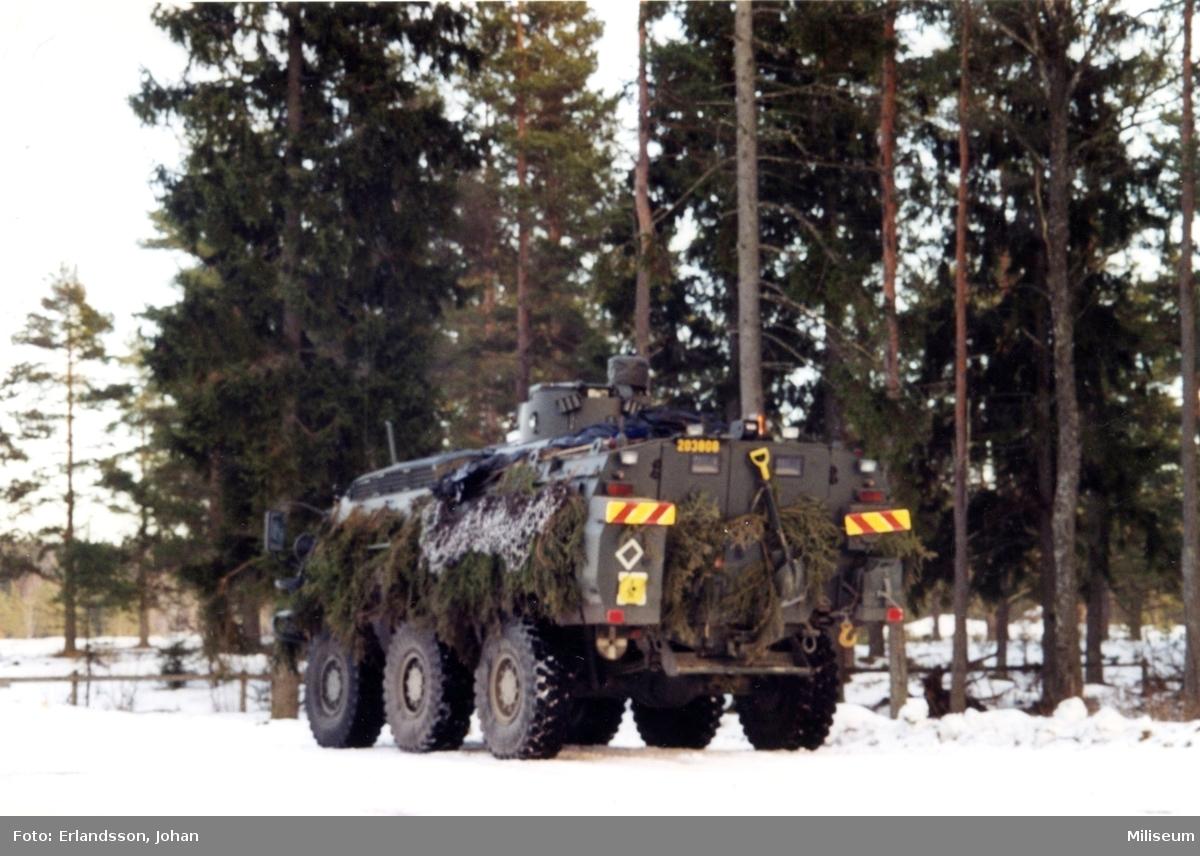 Pansarterrängbil 203 A. SISU.