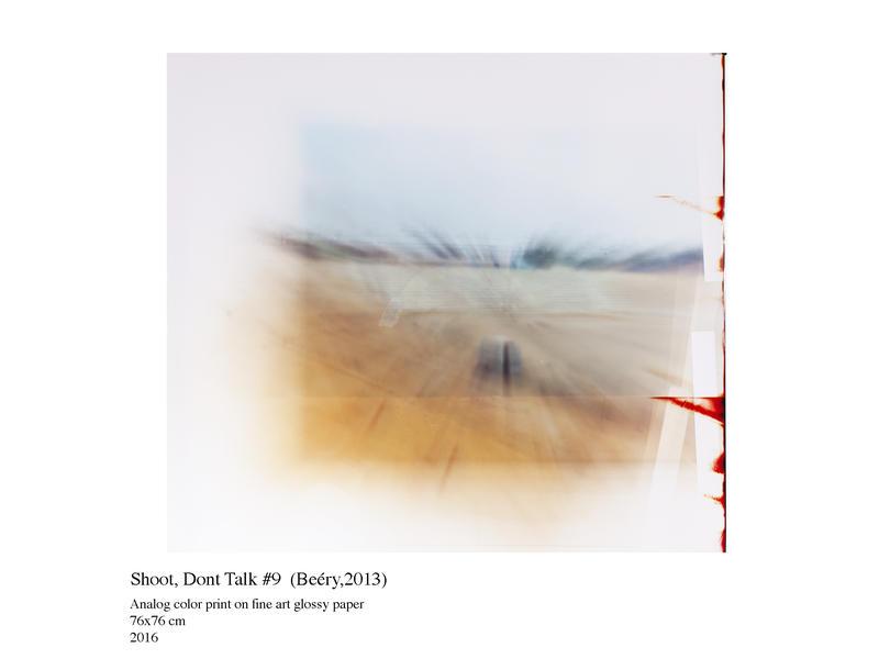 "Yanir Shani: Photograph, ""Shoot, don't talk"", 2016 Yanir Shani"
