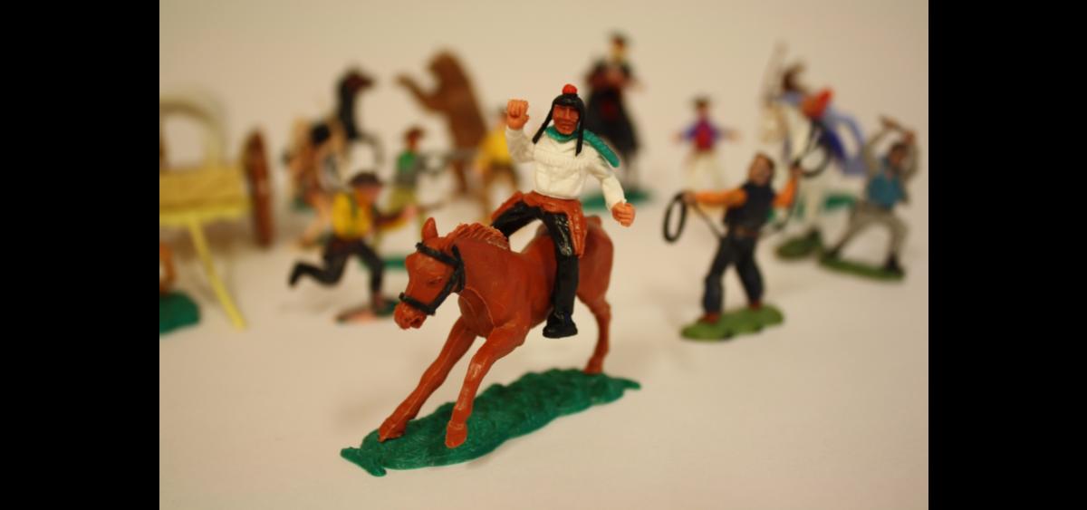 Cowboy og indianer (Foto/Photo)