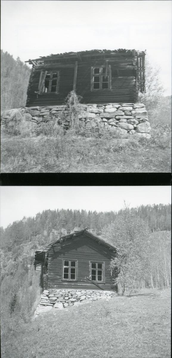 Gammel husmannsstue, Spangrud, Bagn, Sør -Aurdal.
