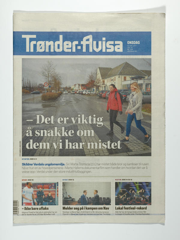 Trønderavisa (Foto/Photo)