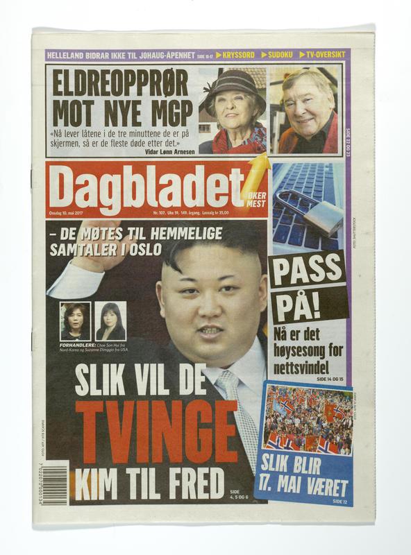 Dagbladet (Foto/Photo)