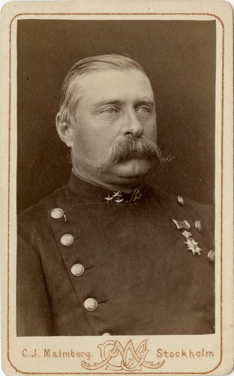 Porträtt av Bengt Gustaf Geijer, kapten vid Skaraborgs regemente I 9.