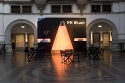 """Fotodokumentation av utställning """"Nils Nilsson Skum"""" på Nord"""