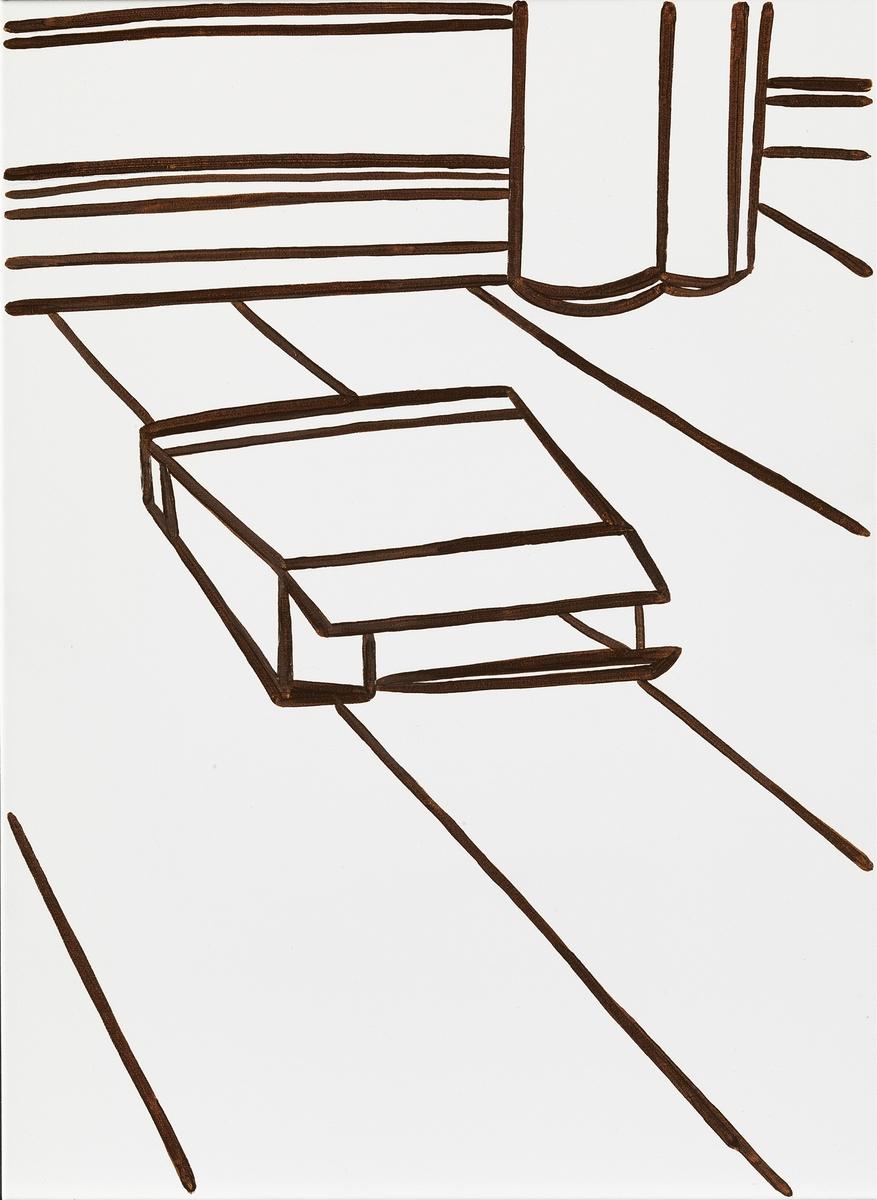 Abendzeichnungen [Maleri]