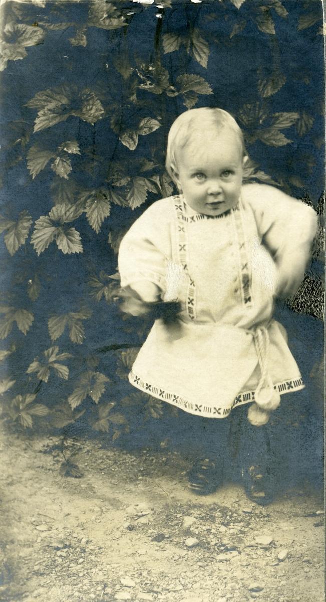 Barnefoto av Gunnar Bangsmoen.