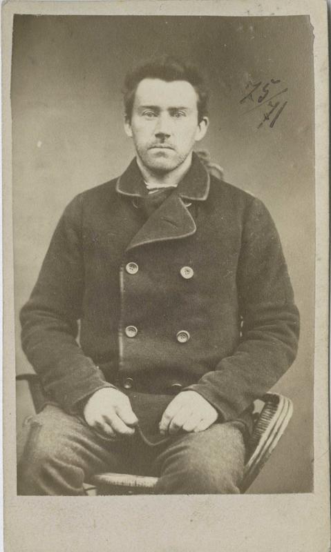 Paul Ragnvald Larsen, Modum, arrestert i 1871, innsatt i distriktsfengslet i Hokksund for ulovlig felling av elg.