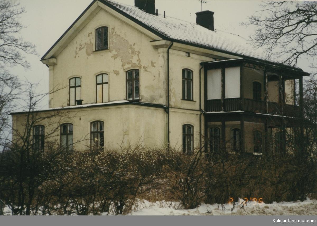 Foto:Gunnar Ankréus Gavel mot öster Vimmerby 3:249 fd Fasanen 2 Stålska Huset