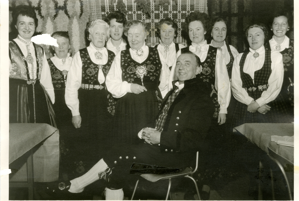 Lærerlagsfest i Reinli.