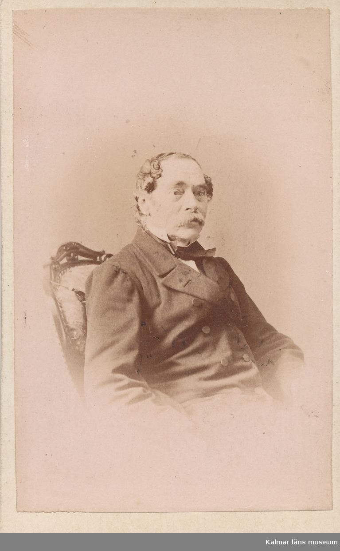 Jöns (Johan) Peter Cronhamn (1803-1875). Professor vid Kungliga musikaliska akademien, med mera.